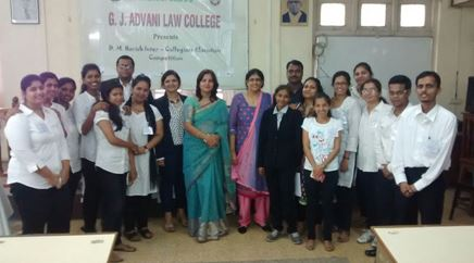 G J Advani Law College in mumbai
