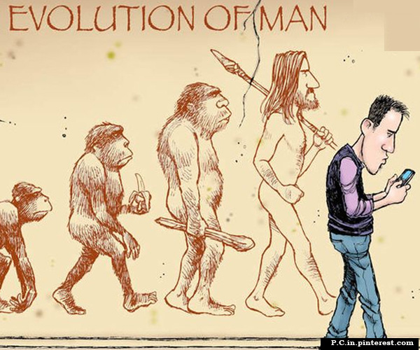 Man and Evolution of Society